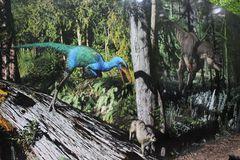 Wandbild mit realistischer Landschaft