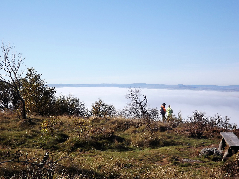 Wanderer über dem Nebelmeer