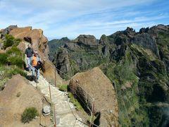 Wandern am Pico Areeiro.