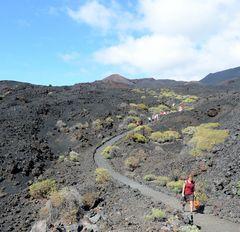 Wandern am Vulkan / La Palma