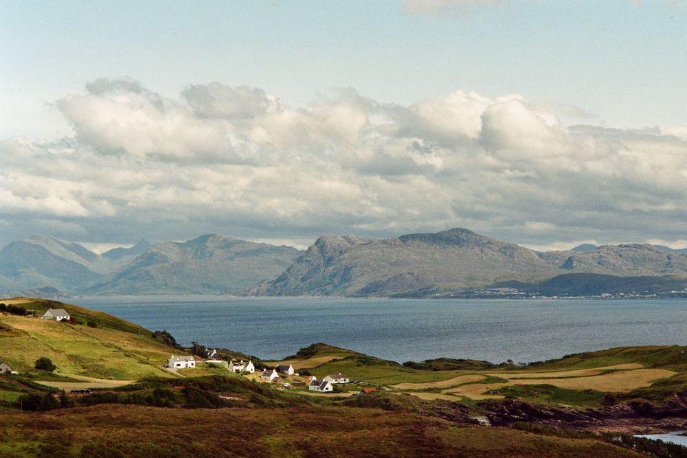 Wandern auf Insel Skye