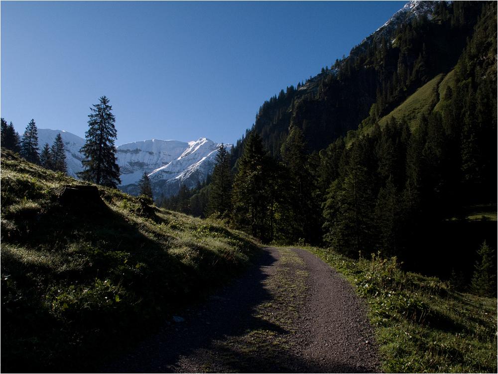 Wandern im Gerstrubental