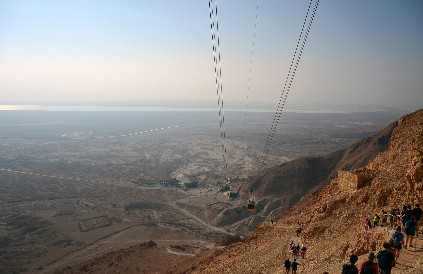 Wandern Tag #4 auf der Massada