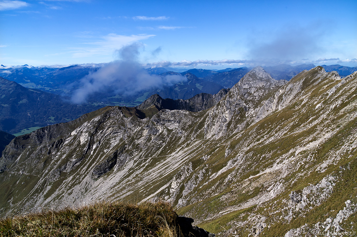 Wandern zum Nebelhorn