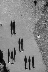 Wandernde Schatten
