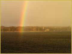 wandernder regenbogen