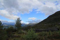 Wanderung am Hardangerfjord