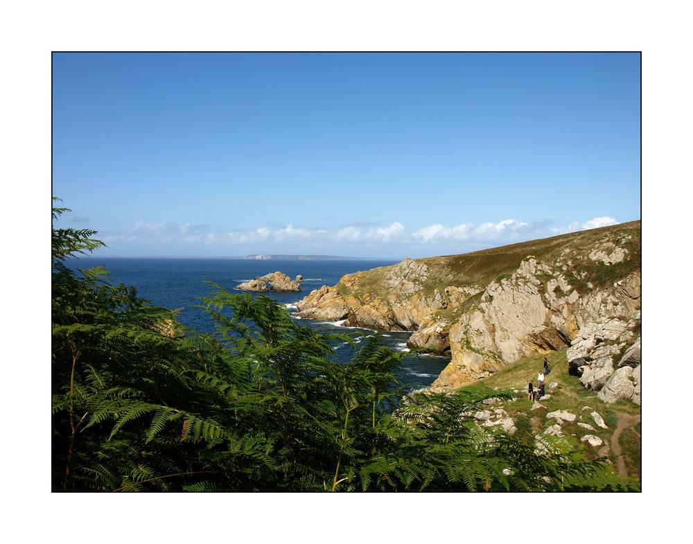 Wanderung an der bretonischen Küste