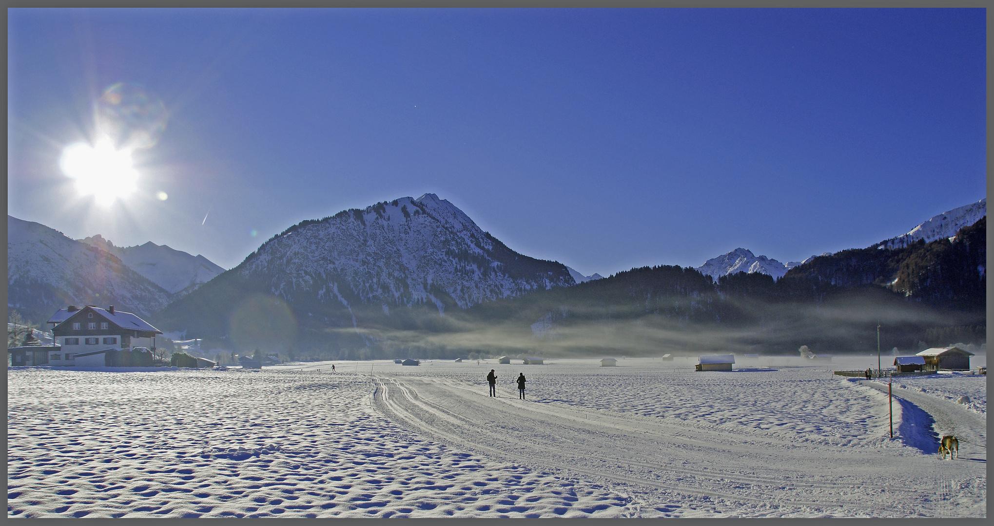 Wanderung bei Oberstdorf