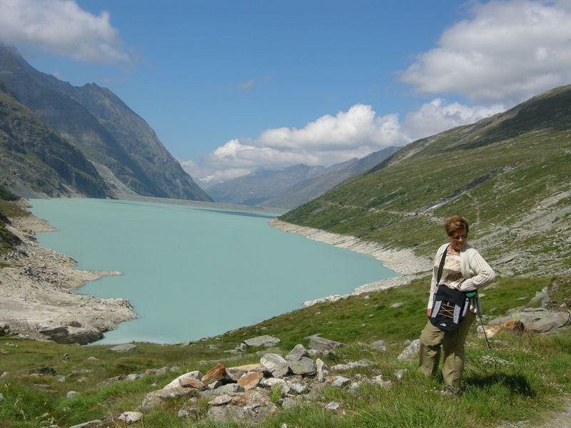 Wanderung um den Mattmarksee im Saastal - Wallis