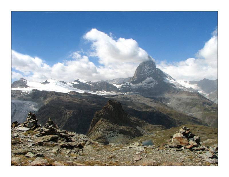 Wanderung um Zermatt, Schweizer Alpen I