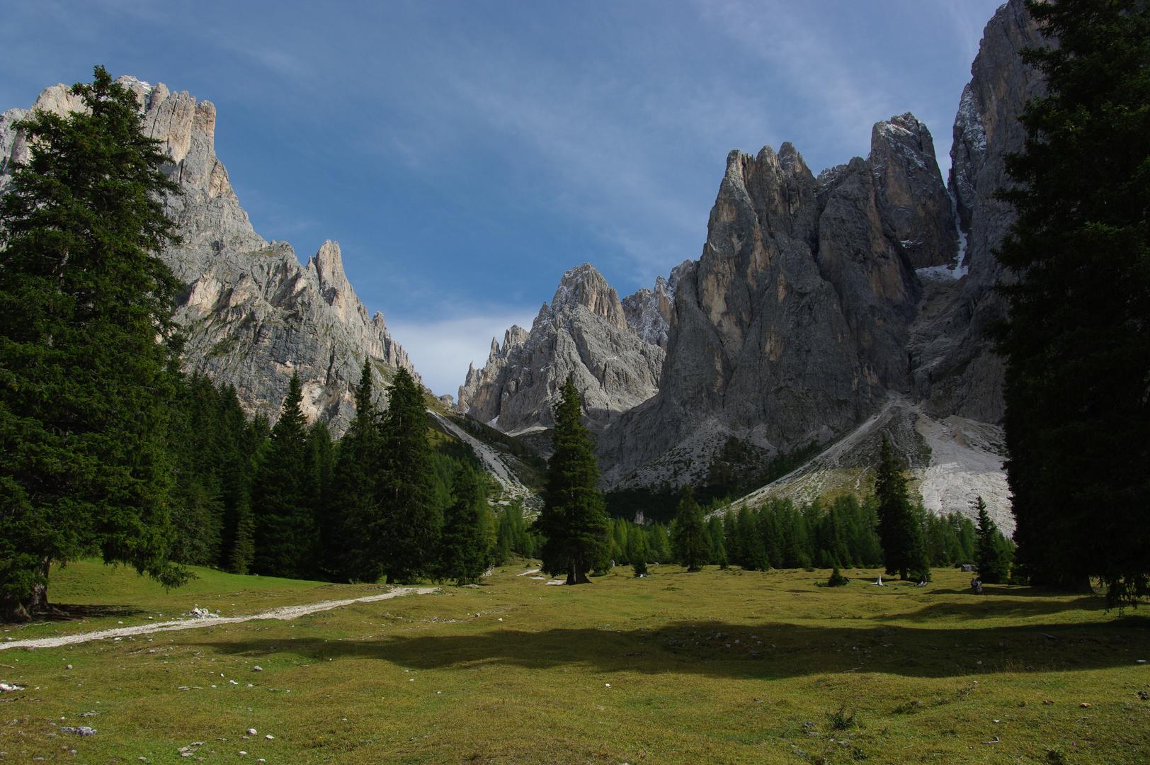 Wanderung vom Monte Pana zur Langkofelhütte