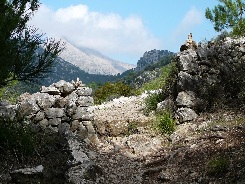 Wanderweg am Tossals Verds (Mallorca)