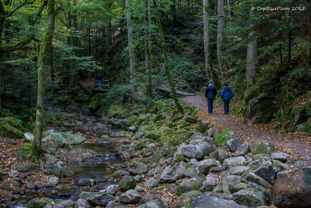 Wanderweg Gerolsauer Wasserfälle