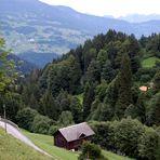 Wanderweg von Grabs nach Latschau