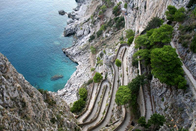 Wanderwege auf Capri