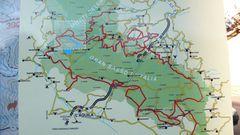 Wanderwege über und um den Gran Sasso