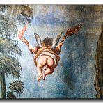 Wandgemälde Im Treppenhaus Schloss Stolberg