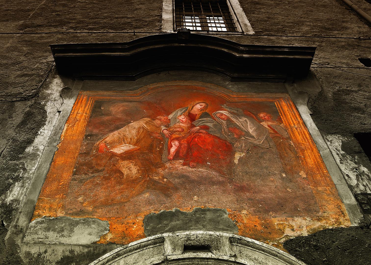 Wandgemälde in Rom