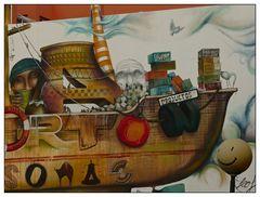 Wandmalerei--Grand Tarajal
