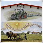 Wandmalerei in Oberbayern