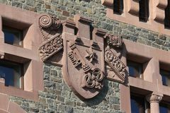 Wappen am Stadttor in Worms