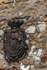 Wappen an der Wand