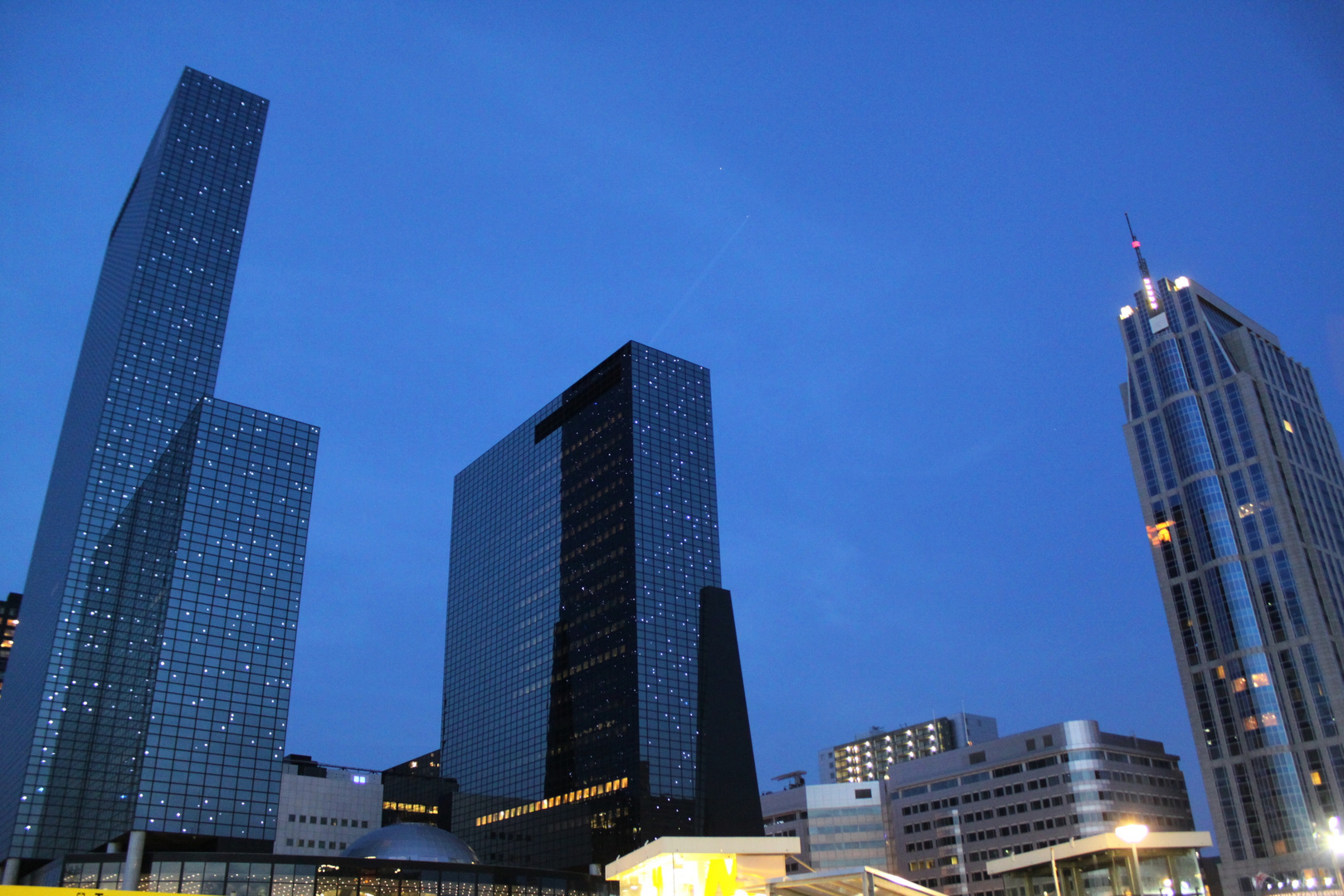 War mal in Rotterdam