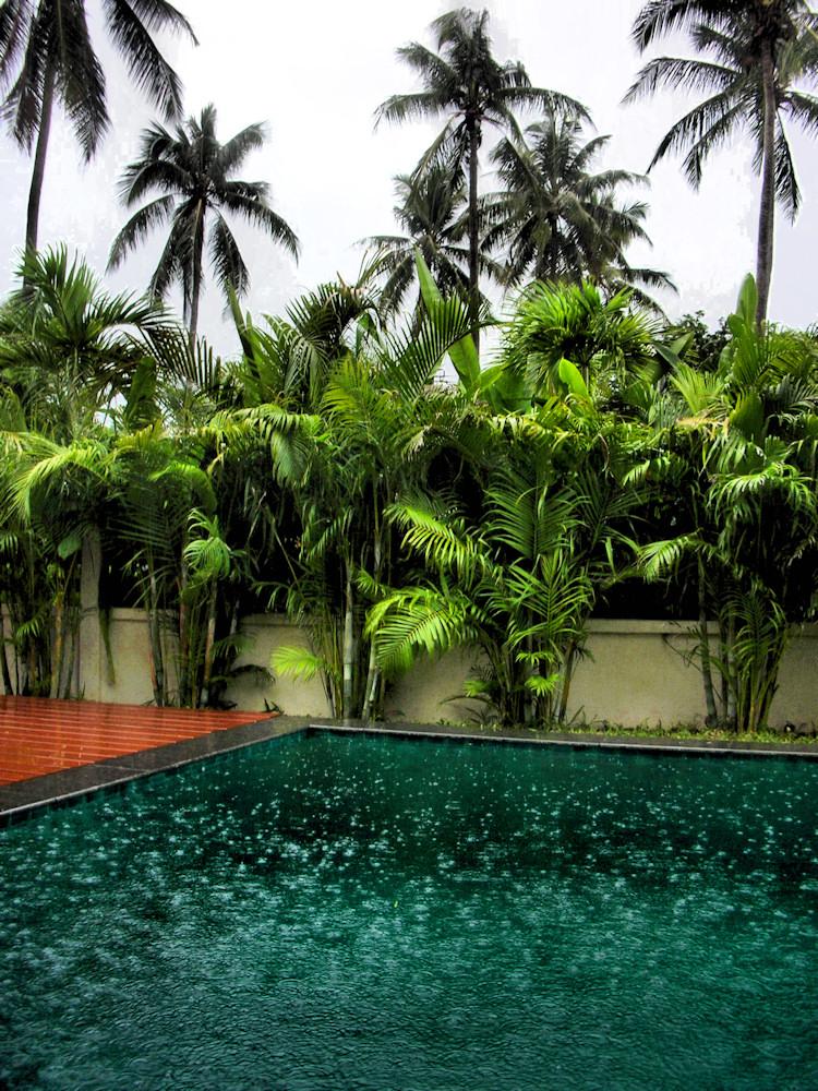 Warm rainy day
