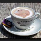 Warm, rich and creamy cappuccino