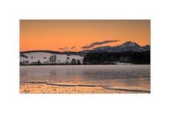 Warm Wintry Sunset - Wintersonnenuntergang