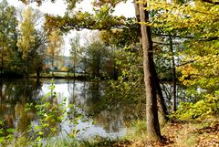 Warmbronner See im Herbst 2012