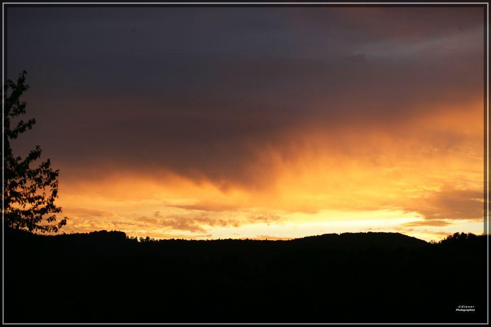 Warme Abendsonne