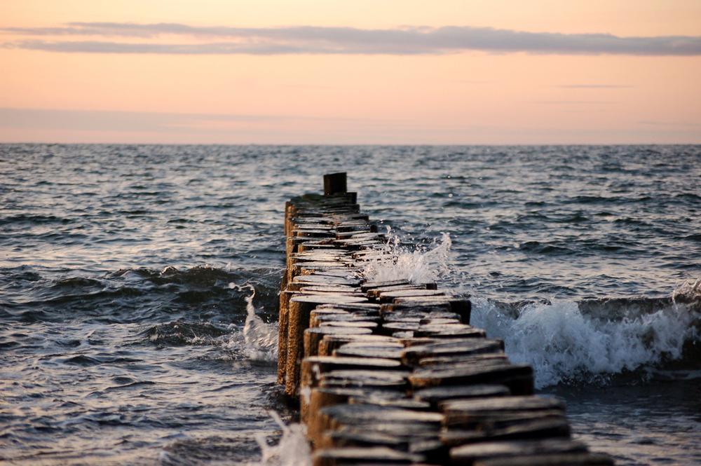 Warme Gefühle am kalten Meer