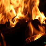 Warmes Feuer für kalte Tage