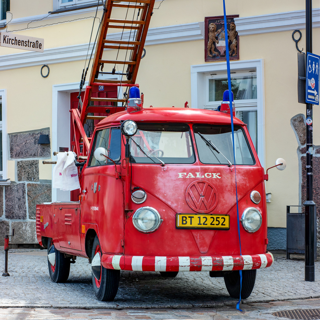 Warnemünde - VW T1 Umbau