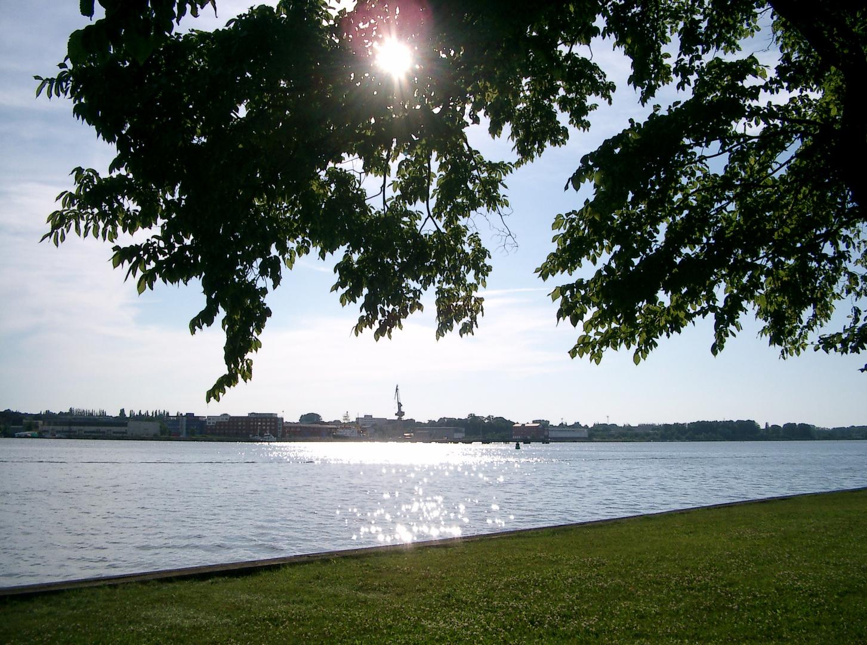 Warnow am Gehlsdorfer Ufer