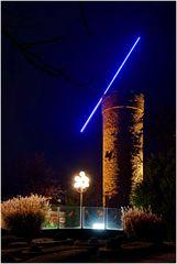 Wartbergturm bei Nacht