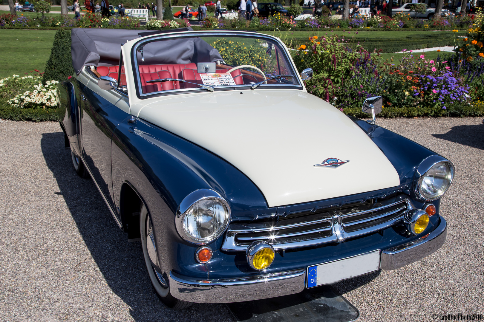 Wartburg 311 Kabriolett D 1958 bei Classic Cars Schwetzingen 2018