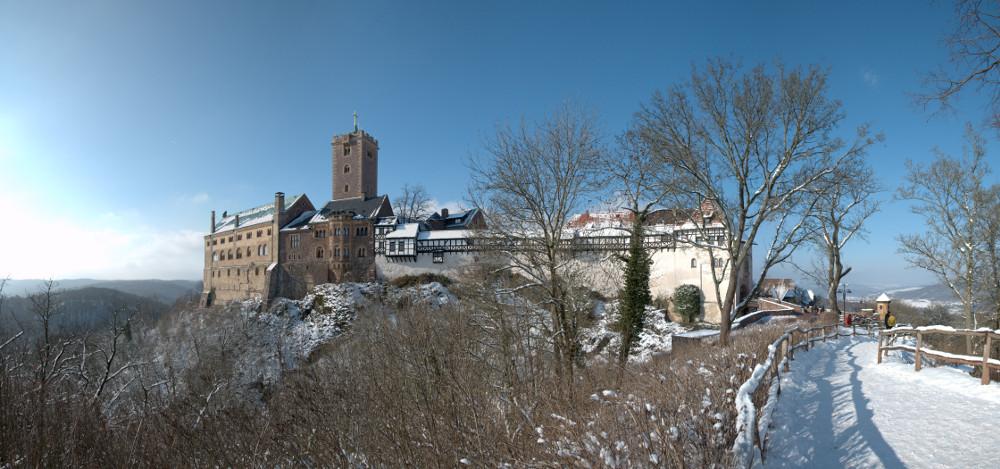 Wartburg. Ein Wintermärchen.