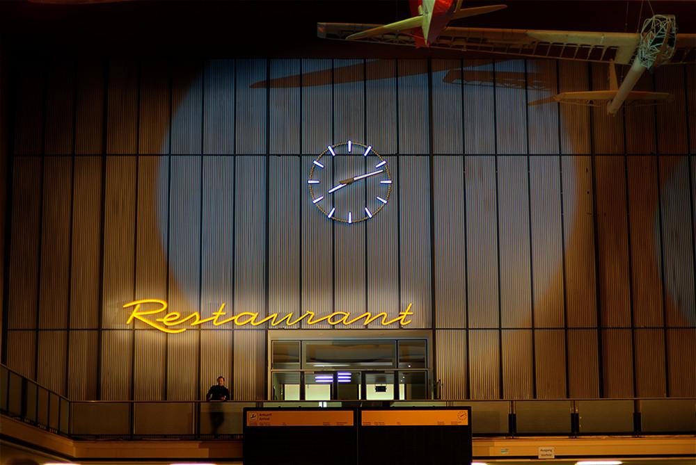 Wartehalle Flughafen Tempelhof