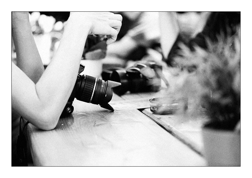 Warten Auf Den Kaffee Foto & Bild
