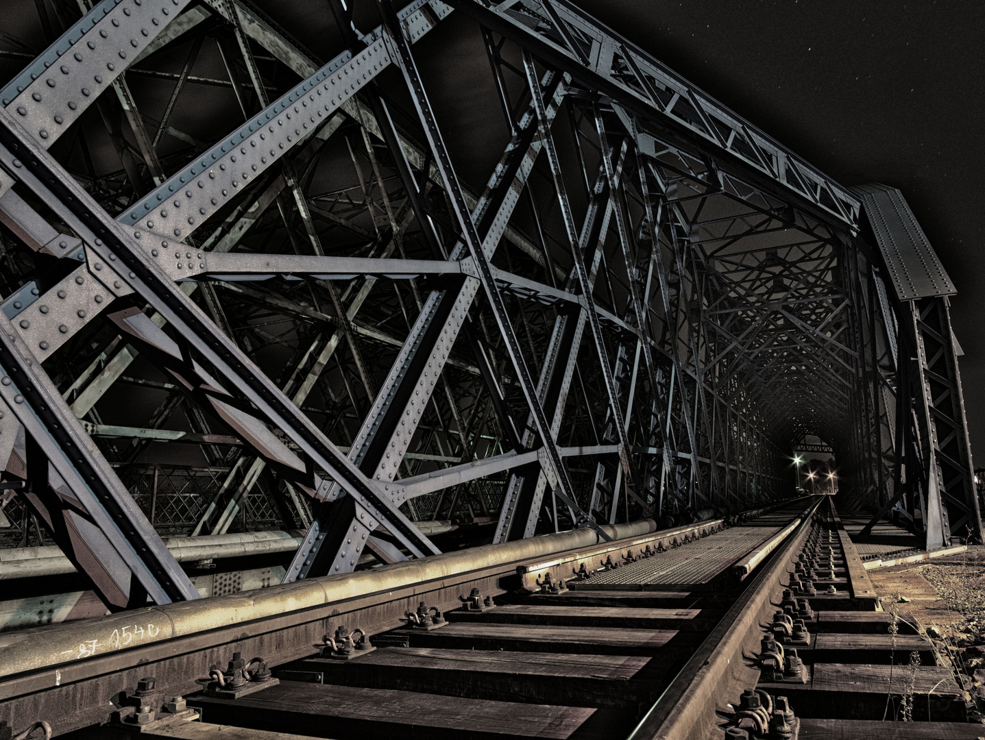 Warten auf den Nachtzug