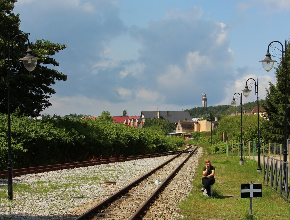 Warten auf den Zug?