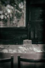Warten auf die Gäste