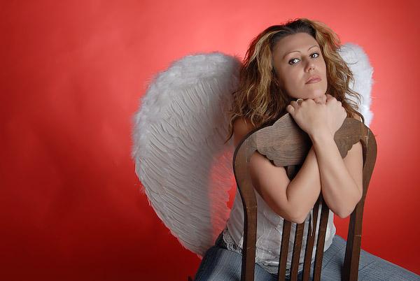 Warten auf einen Engel?