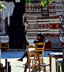 Warten auf Kundschaft, Anogia, Kreta, Griechenlsnd .DSC_9328