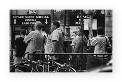 Warten in Saint Germain - Paris