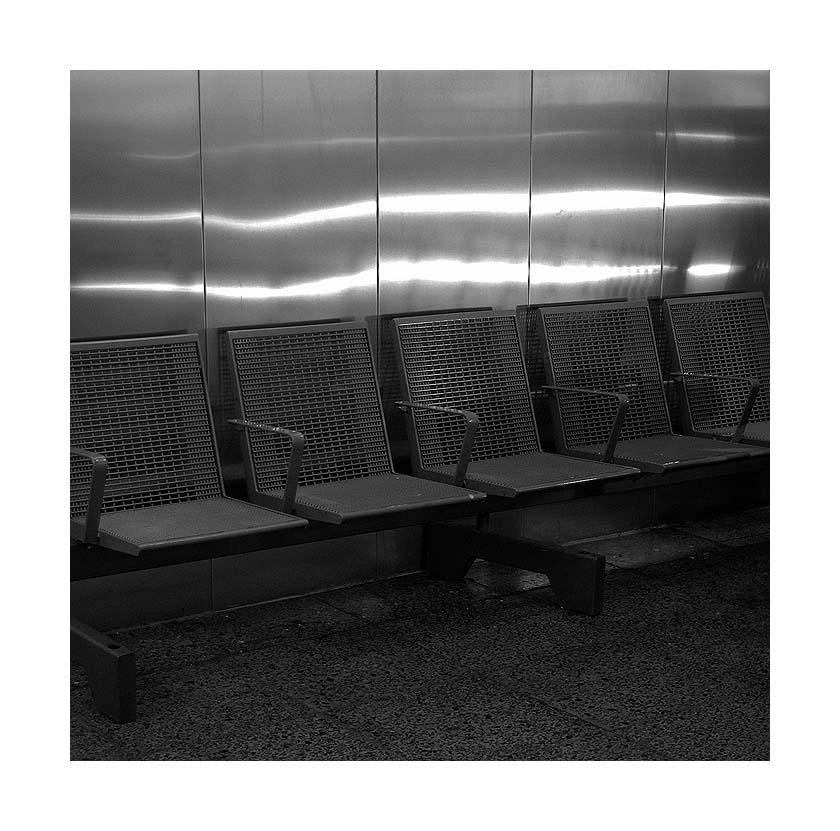 Warten, sitzen, ruhen