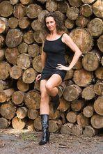 ....wartend auf den Holzfäller (I)....
